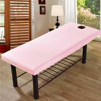 Massage Treatment Bed Cover Polyester Cotton Table Sheet