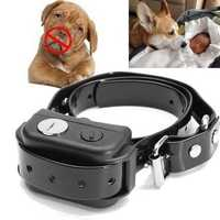 Rechargeable Waterproof Pet Dog Training Bark Stop Collar Ultrasonic Wave Control