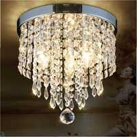 LED Pendant Ceiling Lamp Elegant Crystal Ball Light LED Chandelier Light Home Decor