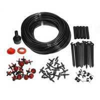 23m Garden Micro Drip Irrigation System Atomization Micro Sprinkler Cooling Kit