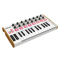 Worlde Portable MIDI Keyboard Controller Mini Professional 25 Keys USB MIDI Drum Pad