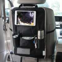Honana HN-X6 Car Back Seat Organizer Hanging Tissue Box Bottle Sotrage Bag Tablet Holder