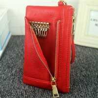 5.5 Inch Women's Long Wallet Handbag Clutch Bag Phone Bag Keys Bag For iPhone 7/7 Plus Samsung