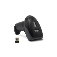 Yongli XYL-9030 Wireless 1D Barcode Laser Handheld Scanner 1D Barcode Reader USB Connection for Supermaket Library Logistics Express Retail Store Warehouse