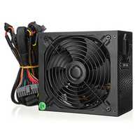 1500W Power Supply Active PFC Computer PC PSU 24Pin SATA LED Cooling Fan 80 Plus