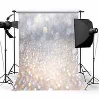 5X7FT Vinyl Christmas Glitter Photography Backdrop Photo Background Studio Prop