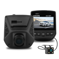 Azdome A305D Dual Lens Car DVR Novatek 96658 Sony IMX323 Video Recorder Dash Cam with Rear Camera