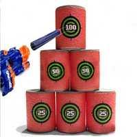 3 Set/18PCS EVA Soft Bullet Target Gun Shoot Dart For Nerf N-strike Elite Blaster Kid Toy