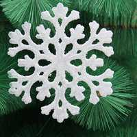 Christmas Xmas Tree Hanging Decoration Acrylic Snowflakes Christmas Party Deocration