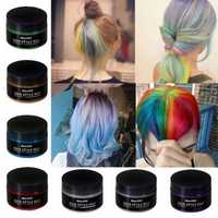 7 Colors Disposable Hair Color Wax Hair Styling Dyes Cream
