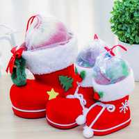 Christmas Candy Bag Santa Claus Boots Cute Holders