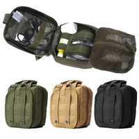 IPRee® Tactical Molle Bag EMT Medical First Aid Utility Emergency Pouch For Vest Belt