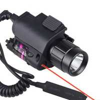 2 in1 XANES LF12 650nm Red Laser Pointer Hang Type Rail Mount Locator with Portable Foregrip Work Light