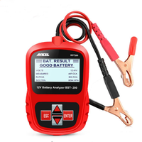 ANCEL Bst200 Car Battery Tester Multi-language 12V 1100CCA Battery Detect Battery Diagnostic Tool