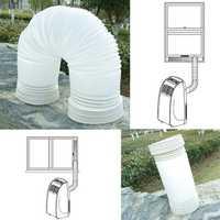 150cm Flexible Portable Exhaust Hose PVC Tube Fits Air Conditioner 5