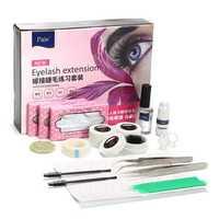 Eyelashes Extension Grafting Kit Glue Holder Tweezers