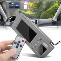 Left or Right 7 Inch TFT LCD Car Sun Visor Monitor 2 Channel Video for DVD Player Rear View Camera