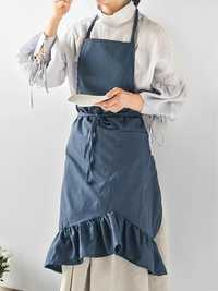 Japanese Retro Solid Sleeveless Belted Cotton Linen Dress