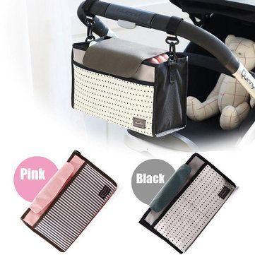Strollers Storage Bag Pram Baby Nappy Changing Shoulder Handbag Mommy Pushchair