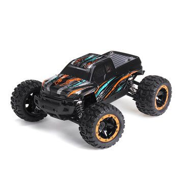 HBX 16889 1/16 2.4G 4WD 45km/h Brushless RC Car with LED Light Electric Off Road Truck RTR Model