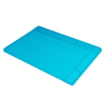 Phone Repairing Silicone Pad Thermostability Heat Insulation Silica Gel Pad Antistatic Anticorrosion Work Mat 480mm*340mm Silicone Pad