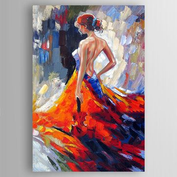 Hand Painted Oil Paintings Famous Modern Stretched Canvas Wall Art For Home Decoration Paintings