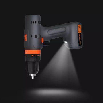 Shunzao 12V Cordless Multi purposed 3 In 1 Imact Drill Driver Hammer 30Nm Electric Screwdriver Drill 2000mAh Li ion Battery from xiaomi youpin