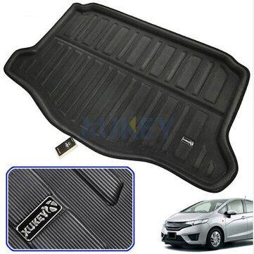 Car Rear Trunk Liner Boot Cargo Mat For Honda Fit / Jazz Hatchback GK5 2014 2019
