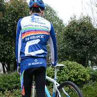 INBIKE Long-sleeved 3D Silicone Cushion Men Jersey