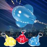 Bysun Sound Carton Aircraft LED Keychain Pendant Color Optional