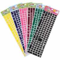 Multi-color Notebook Desktop DIY Luminous Keyboardcover