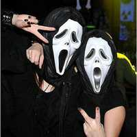 Masquerade Party Mask Halloween Carnival Plastic Face Masks