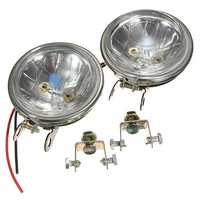 Car Fog Light Reverse Lamp Head Round Daytime Driving LED