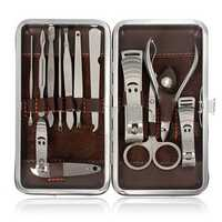 12pcs Nail Clipper Scissor Manicure Set