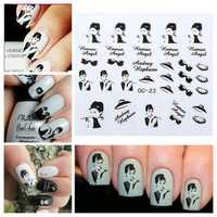 3D Design Nail Sticker Nail Art Decoration