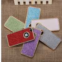 Stylish Bling Glitter Chrome Rhinestone Hard Back Case For iPhone 5 5G