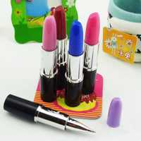 Creative Stationery Lipstick Style Ballpoint Pen