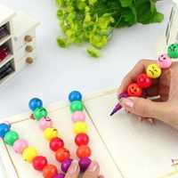 Multicolor Cartoon Expression Sugar-Coated Haws Crayon