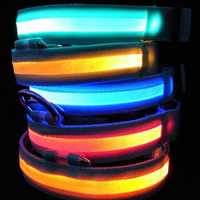 LED Pet Collar Night Safety Dog Flashing Collar