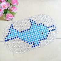 PVC Massage Cartoon Animal Bath Mat Anti-slip Floor Mat