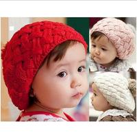 Baby Toddler Infant Knitted Crochet Beanie Winter Hat Cap