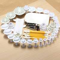 16 Sets 52 PCS Xmas Cake Decorating Mold Set 03032