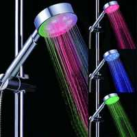 LED Multi-color Automatic Temperature Sensor Hand Shower Head