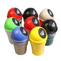 Mini Car Trash Debris Bucket Car Fashion Creative Trash Cans