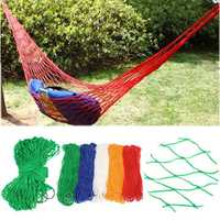 Outdoor Camping Portable Nylon Swing Hammock Hang Net Sleeping Bed