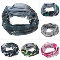 Multi Camouflage Scarf Cycling Bike Neck Face Mask Hat Cap Headwear