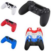 Soft Silicone SKIN Gel Cover Case for Sony Play Station PS4 Controller