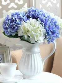 Artificial Hydrangea Bouquet Silk Flowers Wedding Decors