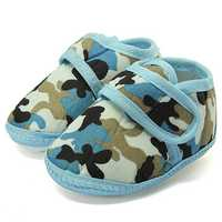 Camouflage Soft Sole Crib Prewalker Shoes Baby Boy Infant Toddler