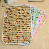 Baby Infant Diaper Nappy Mat Waterproof Urine Bedding Changing Cover Pad